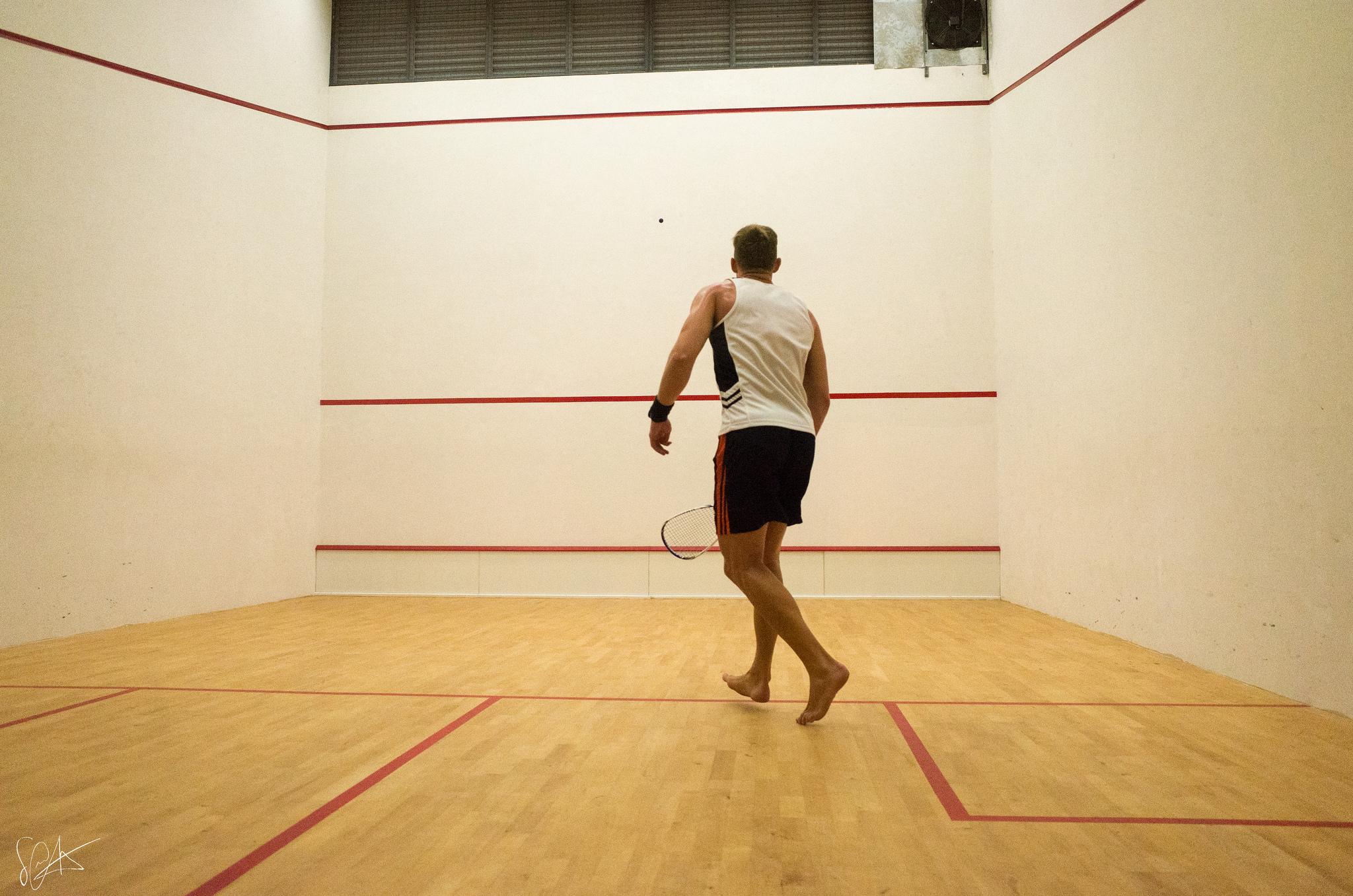 En squash-spiller
