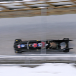 Picture of Bobsleigh in motion